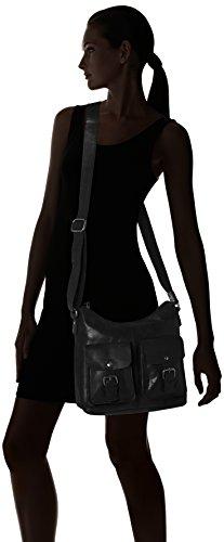Spikes & Sparrow Spikes & Sparrow - Bolso de hombro Mujer Schwarz (Black)