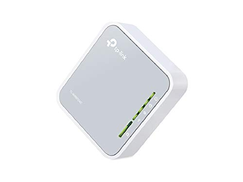 TP-Link AC750 Wireless Portable Nano Travel Router - WiFi Bridge/Range Extender/Access Point/Client Modes, Mobile in Pocket(TL-WR902N)