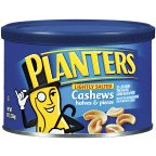 Planters Cashew Halves And Pieces 8 OZ (Pack of 24)