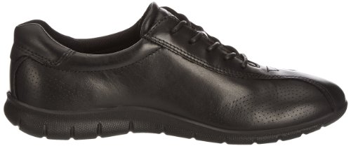 Ecco Babett Signore Derby Lace Up Brogue Nero (nero 1001)