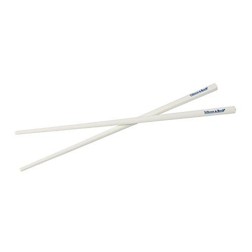 Soup Passion Chopstick Set by Villeroy & Boch -Premium Porcelain - Dishwasher and Microwave Safe - 9 1/2 Inches