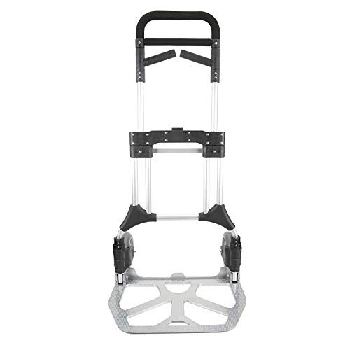 - Pack-N-Roll 87-306-917 Portable Hand Truck, One Size, Silver
