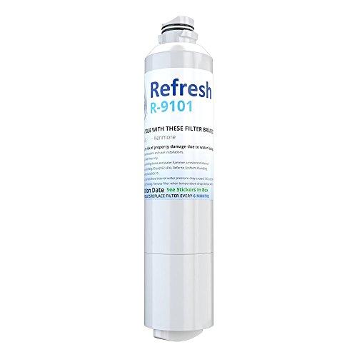 Refresh Replacement for Samsung DA29-00020A, DA29-00020B, HAF-CIN/EXP, 46-9101 Refrigerator Water Filter (1 Pack)