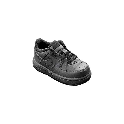 [314194-009] Nike AIR Force 1 TD Infants Shoes Black/Black