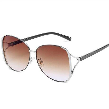 Gafas marca de Brown Mujer Diseñador Elegante conducción GGSSYY Gafas Marrón Moda Sun Mujer la Uv400 sol Gafas de sol de awwq4YFnP