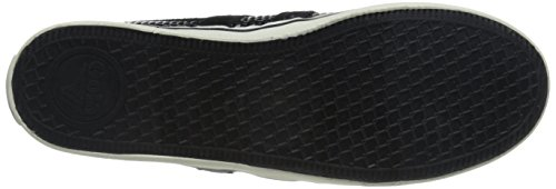 Gola Women's Cla136 Jasmine Hex Fashion Sneaker, Black, 5 M US