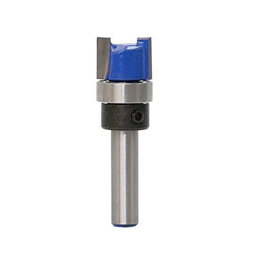 Straight Flute Flush Trim Pattern Router Bit With 1/4
