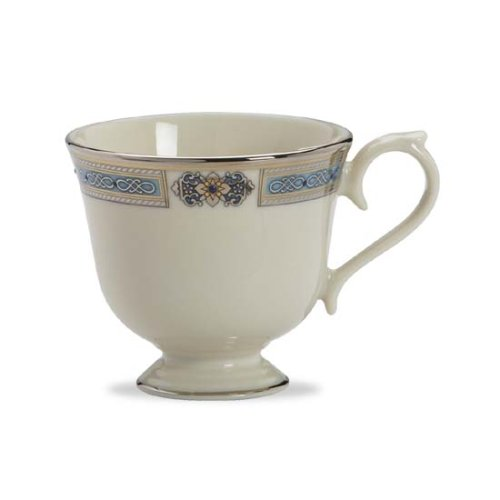 Lenox Jewels Sapphire Platinum Banded Ivory China Cup
