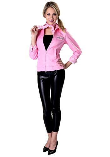 Authentic Pink Ladies Jacket Grease Costume for Women Officially Licensed Medium