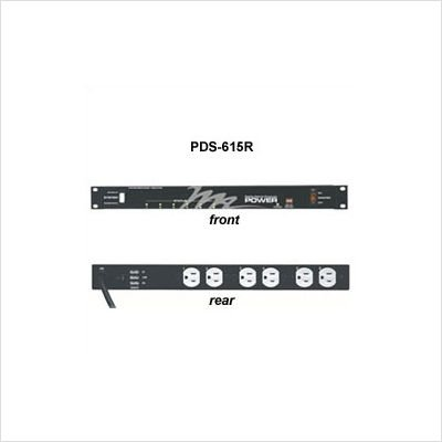 Middle Atlantic PDS-615R 115 Volt Sequencing Rackmount Power Strip by Middle Atlantic (Image #3)
