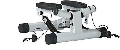 Sunny Health & Fitness Mini Stepper Stair Stepper Exercise Equipment with Resistance Bands and Twisting Action - NO. 068 by Sunny Health & Fitness (Image #5)