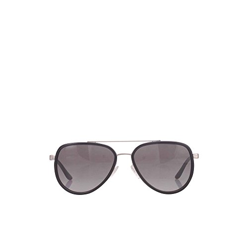 Michael Kors Women's Playa Norte Black/Silver - Black Kors Michael Sunglasses