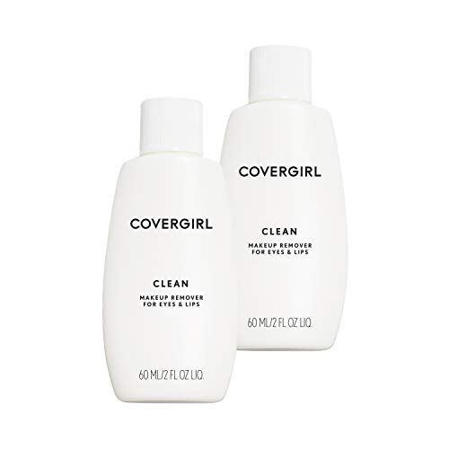 Covergirl Clean Makeup Remover for Eyes & Lips, 2 Count ()