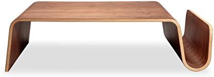 Kardiel Scando Mid-Century Modern Plywood Coffee Table, Walnut Wood