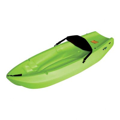 90193 Lifetime Emotion Kayaks Wave Youth Kayak with Paddle & Lime Green Foam Backrest