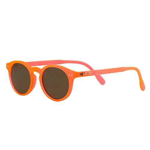 Homme Loop Tradition avec en Sunrise Lunettes catégorie correction Pantos UV Femme A 100 3 design pour étui protection de et soleil vintage sans B Read UV Orange néoprène ggR7O