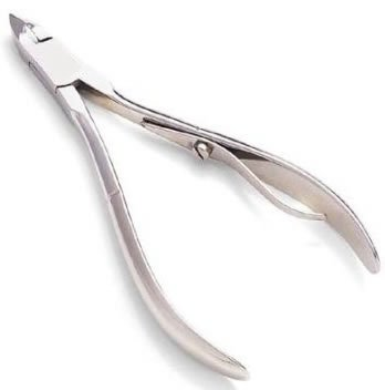 1 X Stainless Steel Cuticle Nipper Nail Art Clipper Cutter by Eamee