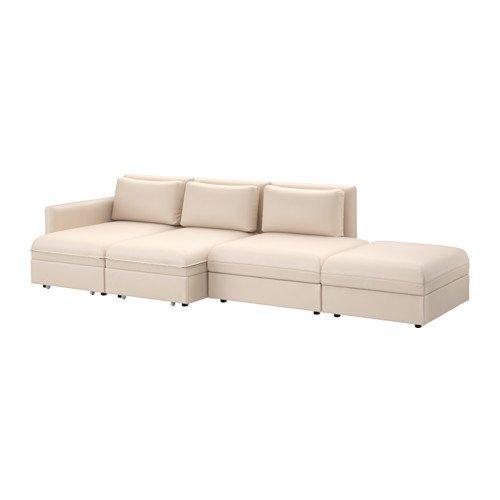 IKEA Sleeper seccional, 4 asientos a partir, murum Beige ...