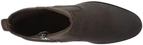 Zip Side Men's Dark Ryder Boot Gordon Rush Engineer Suede Brown xnOq6S17wB