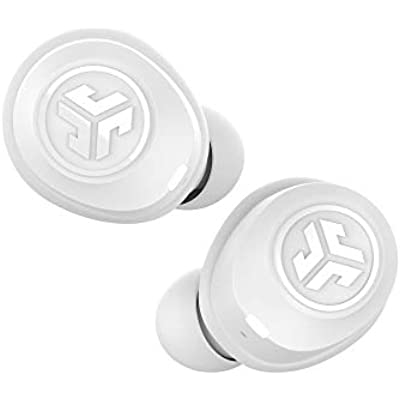 JLab Audio JBuds Air True Wireless Signature Bluetooth Earbuds Charging Case White IP55 Sweat Resistance Bluetooth 5 0 Connection Sound Settings  JLab Signature  Balanced  Bass Boost