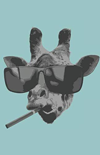 Price comparison product image Planner 2019: Daily Planner,  Cool Giraffe With Sunglasses,  365 Pages,  5 x 7 with to do lists