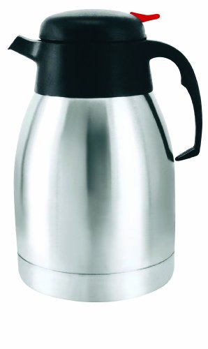 Brentwood Appliances BRENTWOOD Coffee Pot, 1.5-Liter, Stainless Steel