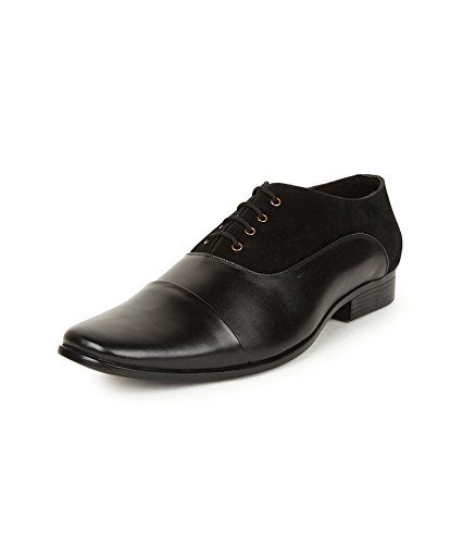 Alpes Martin Men s DBS Black Leather Oxford Shoes (51202-A) - 10 UK  Buy  Online at Low Prices in India - Amazon.in c548d537250a7