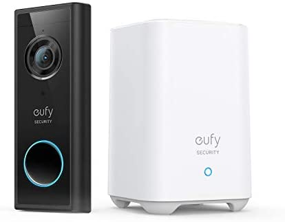 [Amazon.ca] eufy Security, Wireless Add-on Video Doorbell with 2K Resolution, 2-Way Audio, with HomeBase 2 Included $217.99