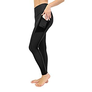 90 Degree By Reflex Women's High Waist Athletic Leggings with Smartphone Pocket