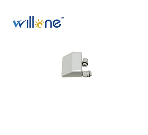 Willone WL-ABS-CB-W 84 KITS White Roof Cable Entry Gland /Solar Panel Double Cable Gland Box for Caravan by Willone