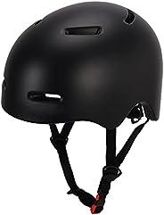 Skateboard Helmet, Kids Bike Helmet,BMX Helmet, Multi- Sport Helmet Replaceable Pads, Bike Helmet for Kids 8-1