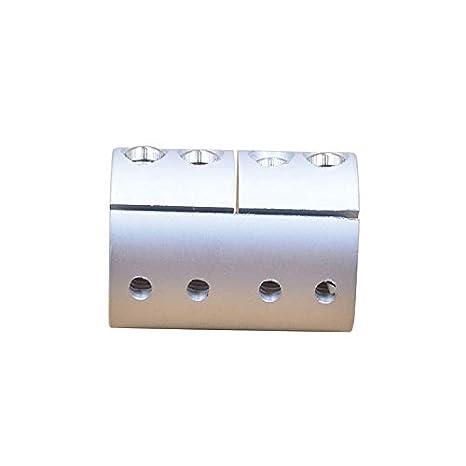 Ochoos Diameter 30mm Length 40mm Clamping Rigid Coupling Aluminum for Engraving Machine Shaft Coupler Motor Connector Inner Diameter: 12mm to 12.7mm