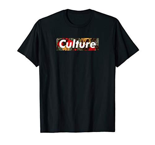 Culture Floral Box Logo T-Shirt ()