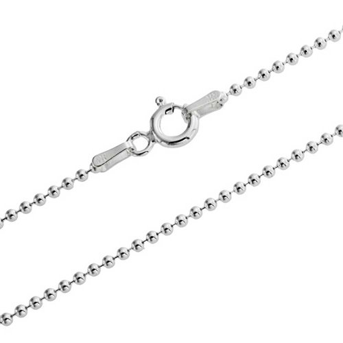 925 Sterling Silver Ball Chain - 2