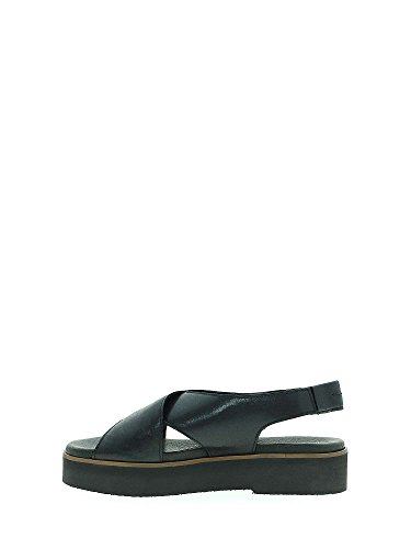 Women Black Sandals 660206 Maritan 39 Wedge qI10txwY