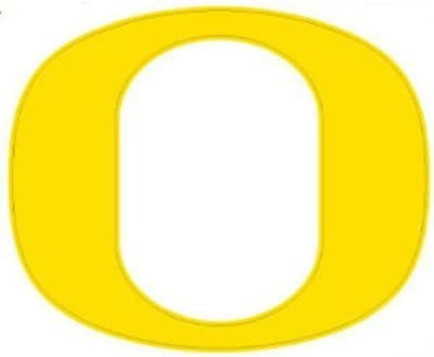 Amazon Com Stockdale Oregon Ducks 12 X12 Logo Decal Yellow Automotive Decals Sports Outdoors