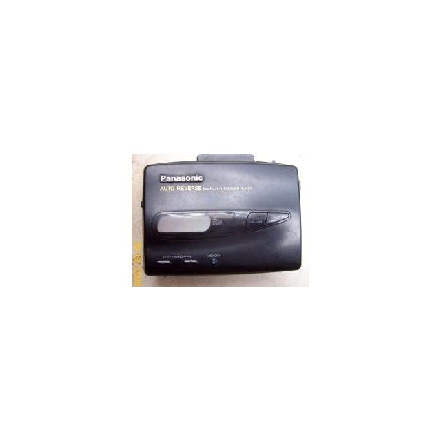 Panasonic Stereo Radio Cassette Player Walkman Style RQ V185 Digital Tuner Auto Reverse
