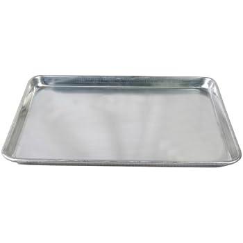Amazon.com: Nordic Ware Natural Aluminum Commercial Hi-Side Sheet ...
