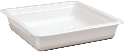 Paderno World Cuisine Induction Porcelain Hotel Pan, 2/3 Hotel Pan Size