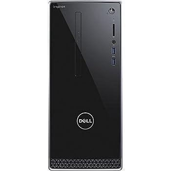 Dell Inspiron 3650 High Performace Desktop Tower (Intel Core i3-6100 Processor 3.70 GHz, 8GB DDR3L RAM, 1TB 7200RPM HDD, DVD, Wifi, Bluetooth, HDMI, VGA, Windows10) - Wave MaxxAudio Pro