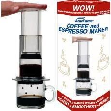 Desconocido Aeropress Cafetera eléctrica con 350 filtros de ...