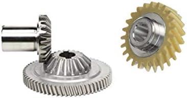 Set originale composto da ruota dentata Worm Gear, Center Gear e Hub per robot da cucina Kitchenaid 5KSM90, 5KSM45, 5KSM150, 5KSM156, 5KSM125, 5KSM175