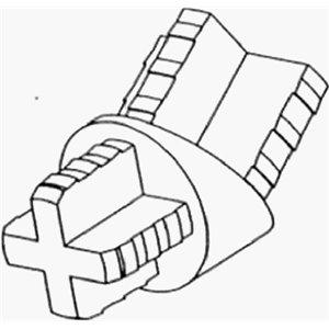 15PK BLK Angle Adapter ()