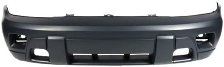 CarPartsDepot 352-15587-10-PM GM1000672 88943617 Front Bumper Cover With Fog Light Holes Primed 2-Tone Type