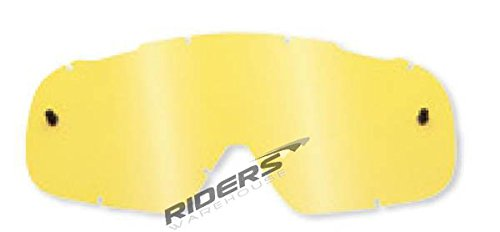 acement Goggle Lens-Yellow (Main Off Road Goggle)