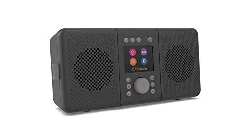 Pure ELAN CONNECT+ All-In-One Stereo Internetradio met DAB en Bluetooth 4.2 (DAB/DAB+ digitale radio, FM-radio…