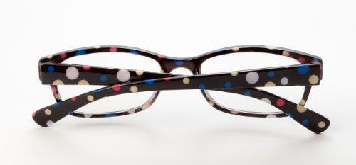 y negro amarillo 5 leer motivo 2 de de mujer con y blanco hombre lunares gafas Tuppy Loudspecs OqZvwx
