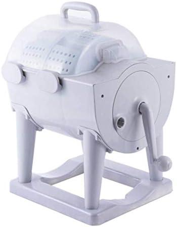 YICO Camping Waschmaschine, Kompakt Schleudertrockner, Tragbare Manuelle Nicht Elektrische Waschmaschine - Geeignet für Schlafsaal, Wohnung, Camping Wäscherei Alternative