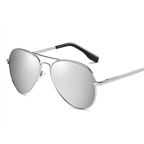 mode métallique polarisées unisexe cadre Coolsir soleil Protection lunettes de de 6 de UV400 Lunettes verres 8Ofqn8Y