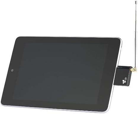 Hauppauge 23125 - Sintonizador de televisión DVB-T para Tablet Android, Color Negro